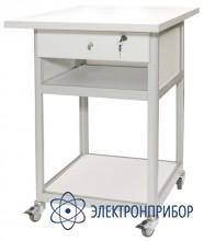 Стол подкатной с антистатической столешницей АРМ-5055-9-ESD