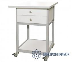 Стол подкатной с ящиками с антистатической столешницей АРМ-5056-ESD