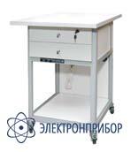 Стол подкатной с ящиками с антистатической столешницей АРМ-5057-ESD