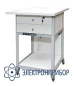 Стол подкатной с ящиками с антистатической столешницей АРМ-5057-9-ESD