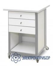 Стол подкатной с антистатической столешницей АРМ-5058-9-ESD