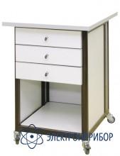 Стол подкатной с ящиками с антистатической столешницей АРМ-5058-ESD