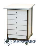Стол подкатной с ящиками с антистатической столешницей АРМ-5059-9-ESD