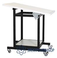 Подкатной столик с регулируемым наклоном рабочей поверхности с антистатической столешницей АРМ-5152-9-ESD