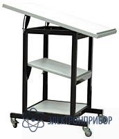 Подкатной столик с регулируемым наклоном поверхностей АРМ-5153