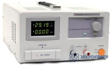Источник питания с дистанционным управлением и опцией внешней синхронизации (s) APS-3310LS