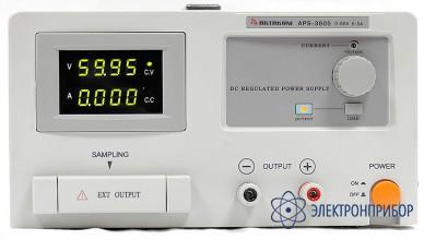 Источник питания с дистанционным управлением и опцией внешней синхронизации (s) APS-3605LS