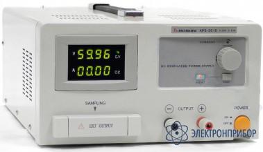 Источник питания с дистанционным управлением и опцией внешней синхронизации (s) APS-3610LS