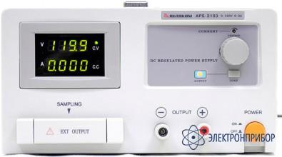 Источник питания с дистанционным управлением и опцией внешней синхронизации (s) APS-3103LS