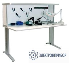 Стол монтажника радиоаппаратуры с антистатической столешницей АРМ-4115-ESD