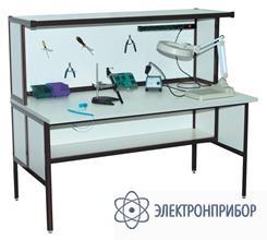 Стол монтажника радиоаппаратуры с антистатической столешницей АРМ-4120-ESD
