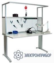Стол слесаря-сборщика радиоаппаратуры с антистатической столешницей АРМ-4325-ESD