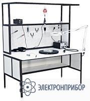 Стол слесаря-сборщика радиоаппаратуры с антистатической столешницей АРМ-4350-ESD