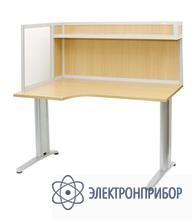 Стол для офиса с эргономичной столешницей АРМ-4455-Л