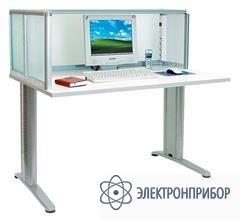 Стол секретаря-референта с антистатической столешницей АРМ-4615-ESD