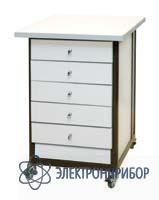 Стол подкатной с ящиками АРМ-5059