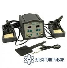 Двухканальная индукционная паяльная станция ASE-1203