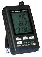 Измеритель-регистратор температуры, влажности и атмосферного давления с временными метками АТЕ-9382