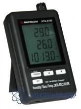 Измеритель-регистратор температуры, влажности, давления с bluetooth интерфейсом АТЕ-9382BT