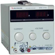 Источник постоянного тока 0…30 а и напряжения 0…12 в АТН-1113