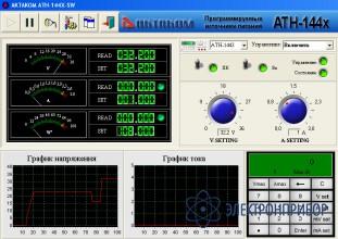 Программное обеспечение для атн-1441, атн-1443, атн-1446 АТН-144x-SW