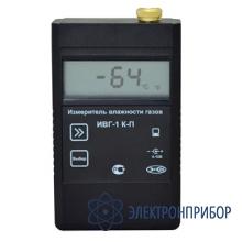 Портативный одноканальный измеритель микровлажности газов (базовый комплект измерительного блока, преобразователя ипвт-08-01-д1 и упаковочного чехла) ИВГ-1 К-П