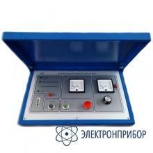 Установка для испытания индивидуальных средств защит от поражения электротоком КИ-20-0,5