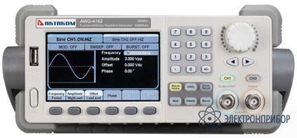 Генератор сигналов специальной формы AWG-4122