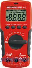 Цифровой мультиметр с бесконтактным датчиком напряжения Benning MM 1-2
