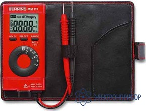 Цифровой мультиметр в карманном формате Benning MM P3