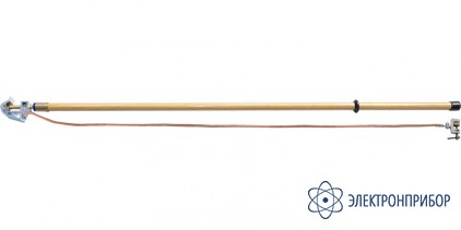 Заземление переносное для грозового защитного троса ЗПГЗ-110-500 S-16