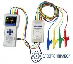 """Прибор для измерения показателей качества электрической энергии и электроэнергетических величин Энерготестер ПКЭ-А-С4 """"10А+3000А"""""""
