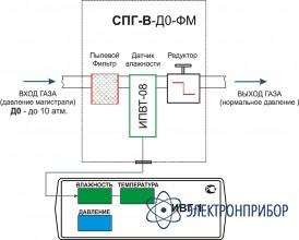 Система пробоподготовки газов СПГ-В-Д3-ФП-Д-Р