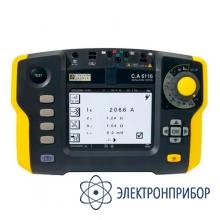 Прибор для комплексной проверки электрических установок C.A 6116 + клещи С177