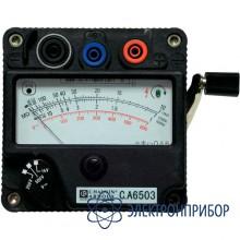 Измеритель сопротивления изоляции, индукторный мегаомметр C.A 6503