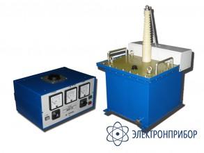 Установка для испытания и прожига изоляции силовых кабелей АИП-70