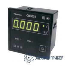 Вольтметр цифровой щитовой, 250в, однофазный СВ3021-250