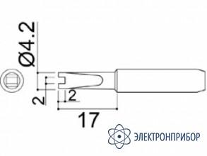 Паяльная сменная головка для паяльников hakko 907/907esd HAKKO 900M-T-RT