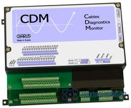 Система мониторинга состояния и диагностики дефектов изоляции 15 кабельных линий CDM-15