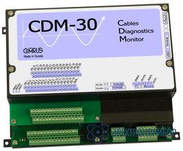 Система мониторинга состояния и диагностики дефектов изоляции 30 кабельных линий CDM-30