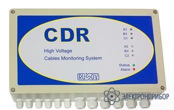 Система мониторинга технического состояния высоковольтных кабельных линий CDR 6 каналов