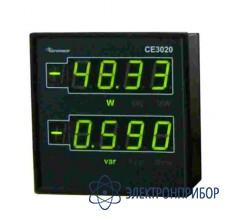 Цифровое устройство для индикации значений активной и реактивной мощностей CE3020/3