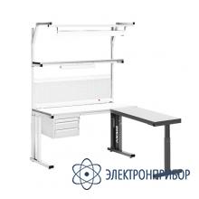 Угловая приставка для столов серии комфорт УС-1 Комфорт