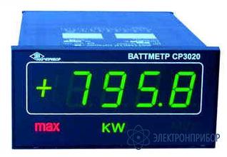 Ваттметр цифровой щитовой СР3020-ВАТ