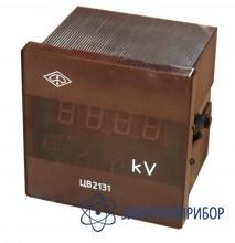 Вольтметр цифровой щитовой переменного тока ЦВ2131 AC