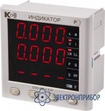 Индикатор цифровой (одностраничная модификация) DDD-KC-2-4-G(R,Y)-1