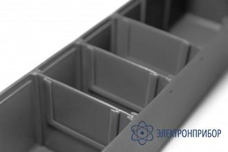 Делитель для узких кейсов модульной стойки антистатическое исполнение СП-01/С-1/Д ESD