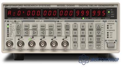 Генератор импульсов + генератор задержек DG645