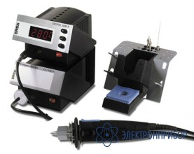 Антистатический оловоотсос x-tool c подставкой и компрессором СU100A