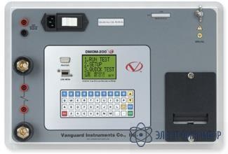 Микроомметр (измеритель сопротивления контактов) DMOM-200